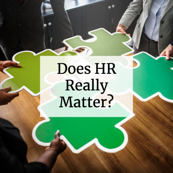 Does HR Really Matter