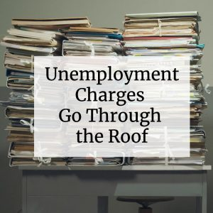 unemployment charges