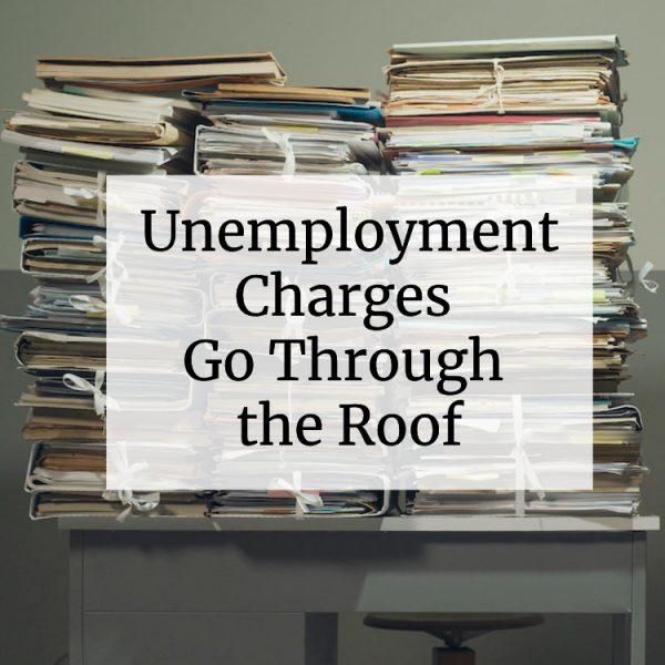 unemployment charges
